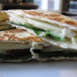 Apple Brie Quesadilla