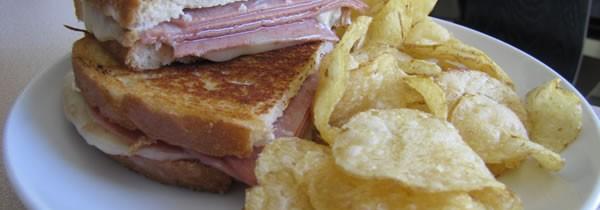 Mortadella, Provolone, and Olive Tapenade Sandwich