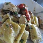 Skillet Chicken & Ravioli
