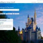Disney World Ratings & Reviews site in Beta