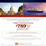 TWO DISNEY VACATIONS IN ONE; $789 PER PERSON