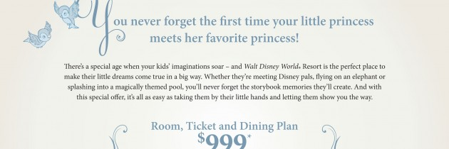 Introduce Your Princess to Disney!