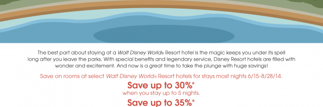 Dive into Savings with this WDW Summer Offer!